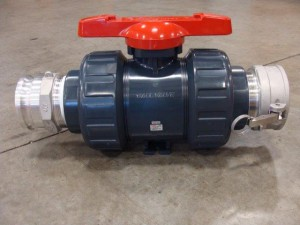 "4"" BALL VALVE W/ M&F CAMLOCKS"