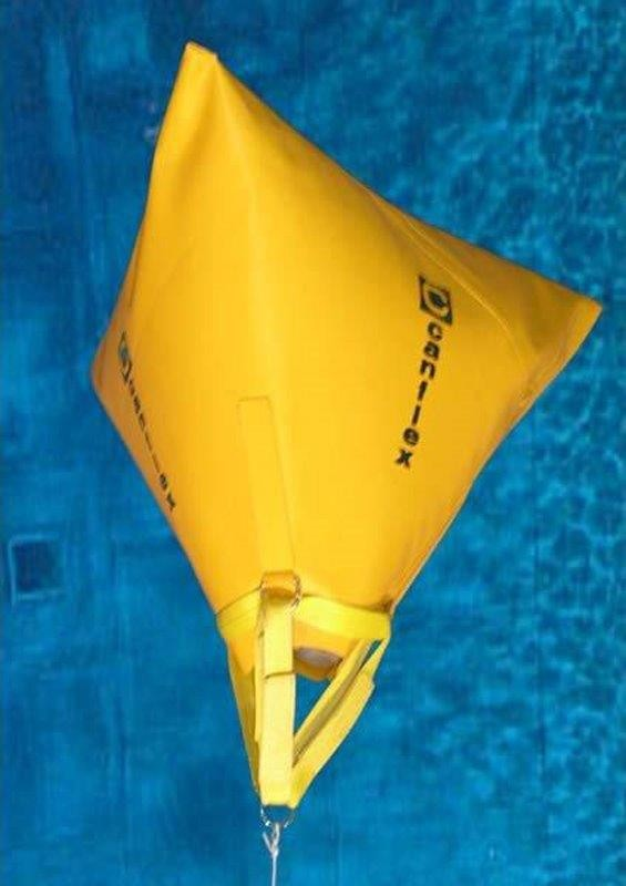 Air Lift Bags >> Surface & Underwater Lift Bag Tetrahedron Style - Canflex (USA), Inc